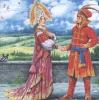 Жар - птица и Василиса - царевна