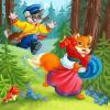 Кот, петух и лиса (читает Лидия Орлова)