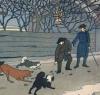 Прохожие и собаки