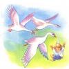 Гуси-лебеди (читает В. Фунтикова)